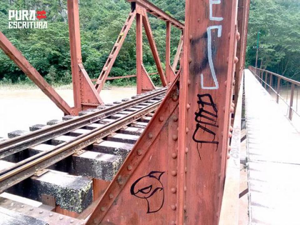 Puente - Tren - Hidroelectrica - Aguas Calientes
