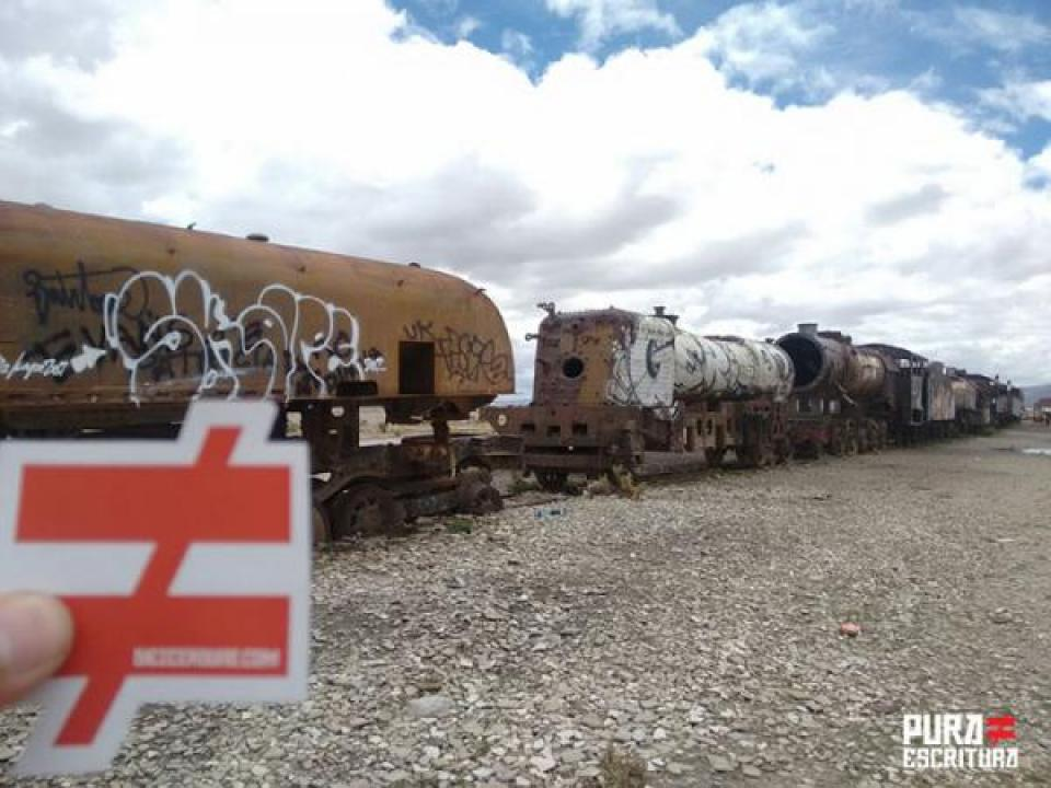 Cementerio De Trenes Uyuni, Bolivia | Fotografía Por Hernando Monsalve