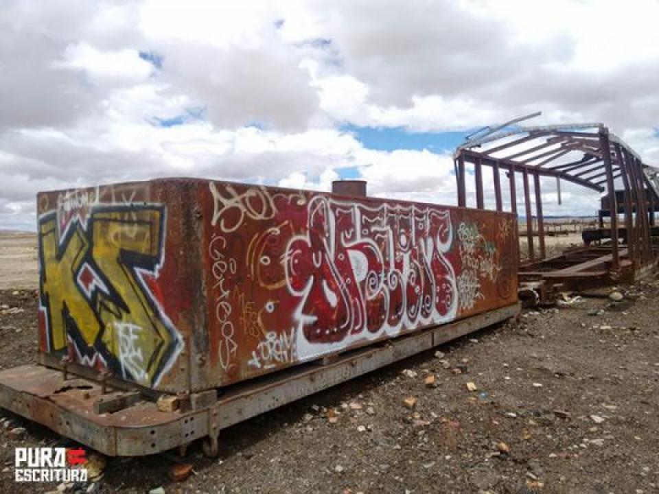 Cementerio De Trenes Uyuni, Bolivia   Fotografía Por Hernando Monsalve