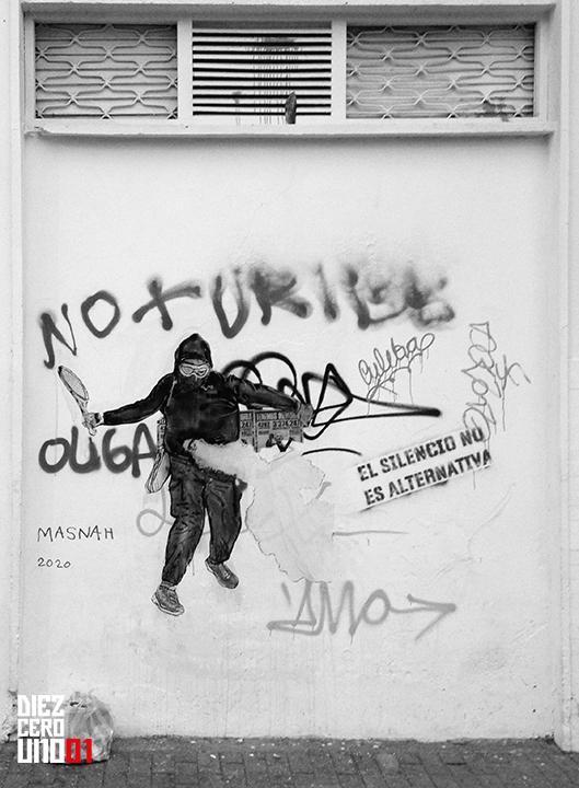 Graffiti en la Calle 53 con Av. Caracas