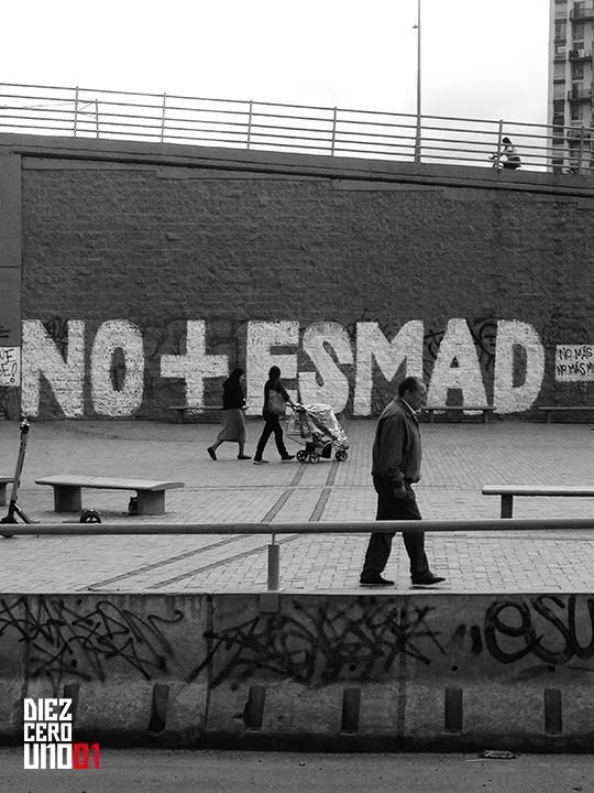 Graffiti en La Calle 183 con Autopista Norte