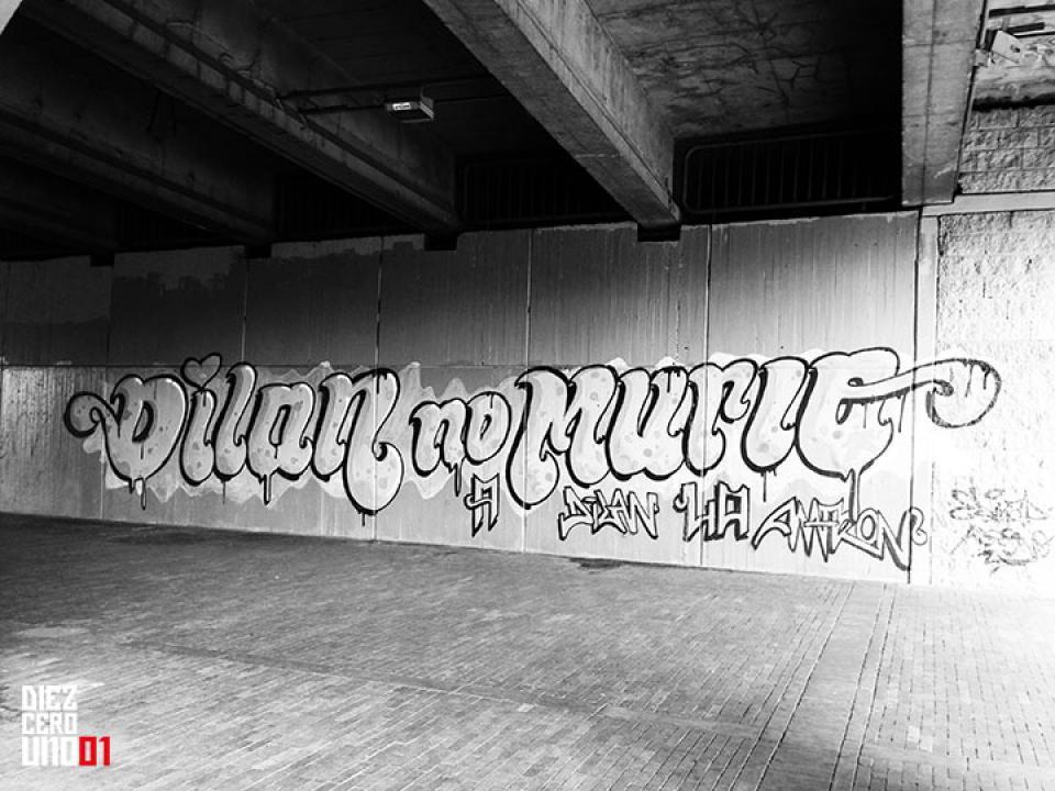 Graffiti en Av. Calle 13 con Carrera 30