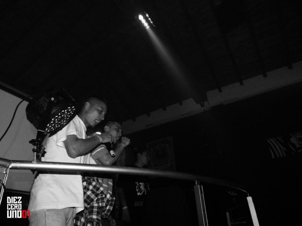 Black Mentes / H-ico - Lanzamiento Intruso