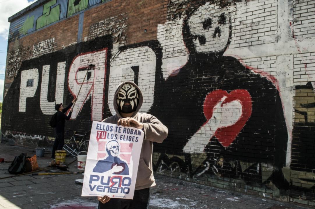 Puro Veneno: Graffiti Como Herramienta Política - Imagen Cortesía De Puro Veneno