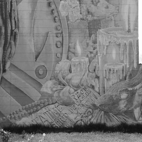 Mal Crew - Mala Memoria | Detalle Mural Calle 26