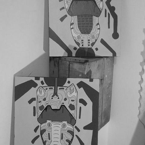 Totem Animal - Kamany Acosta | Imagen vía Behance